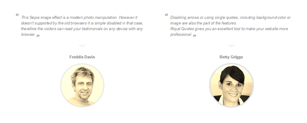 Royal Quotes - WordPress Layers Testimonials Grid