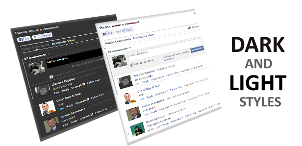 Facebook Comment Slider for WordPress 9