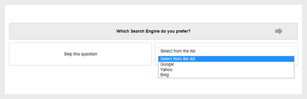 WordPress Questionnaire List Answer