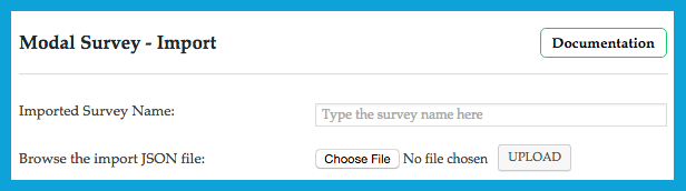 Plugin offers Export and Import Survey in WordPress